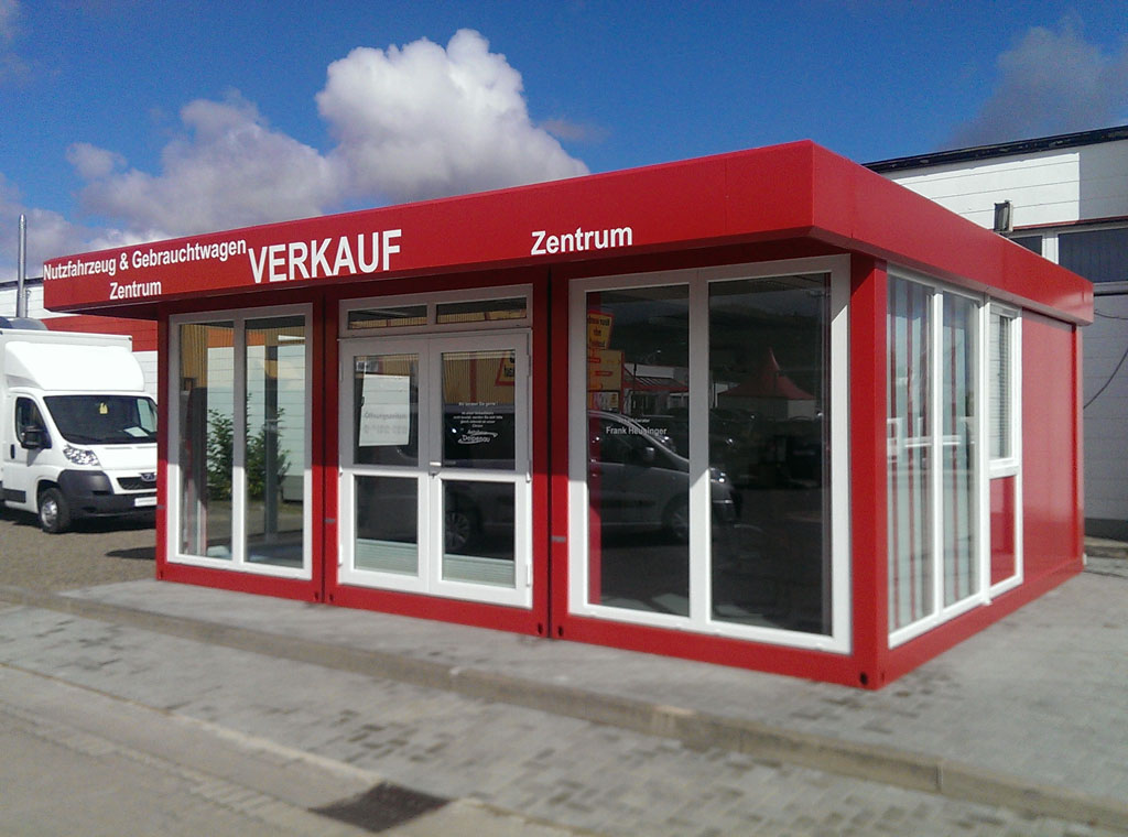 Verkaufscontainer for Moderne wohncontainer